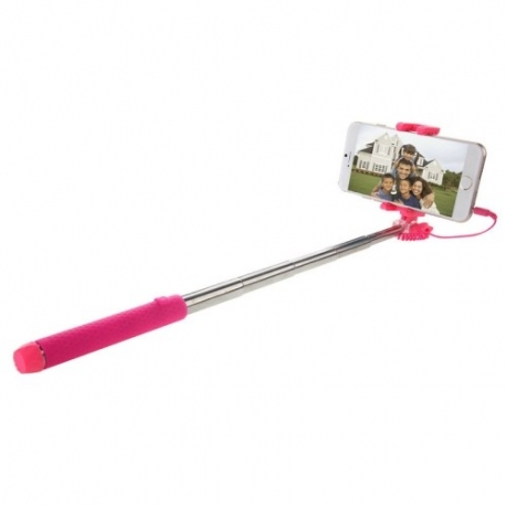 Haweel Selfie Stick pour iOS & Android Rose